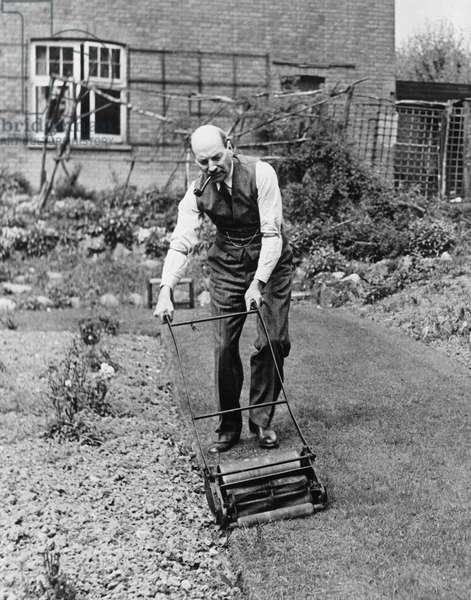 Clement Attlee, Labour politician, 19 April 1945