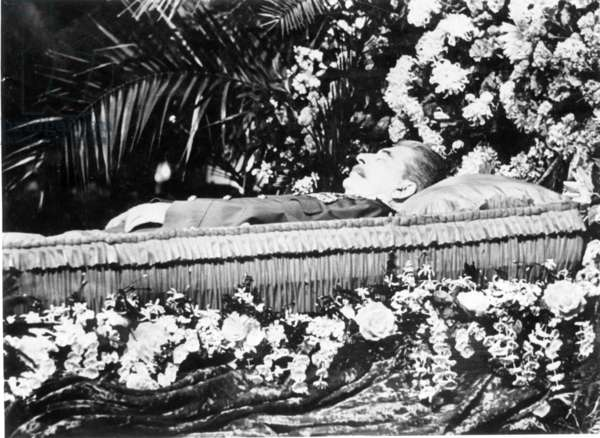 Stalin Lying in State, Moscow, March, 1953.