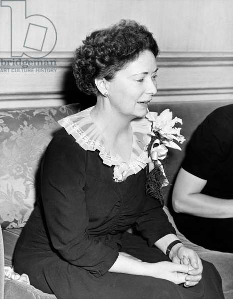 Author Margaret Mitchell (b/w photo)