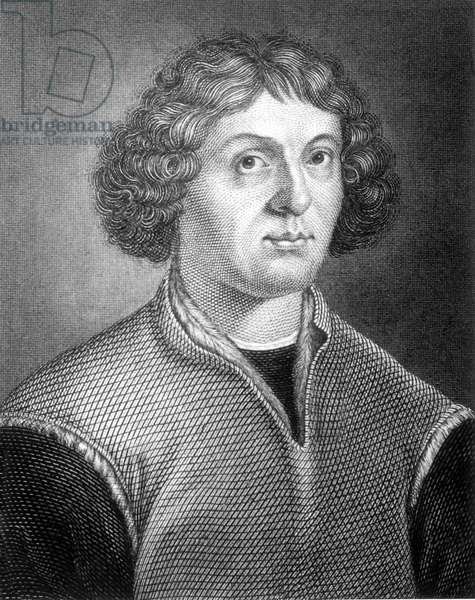 Nicolaus Copernicus, astronomer (b/w photo)