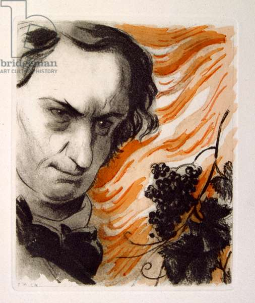 Illustration for the Poem 'Wine' by Charles Pierre Baudelaire