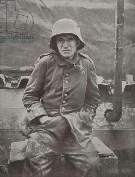 A German prisoner, 1916