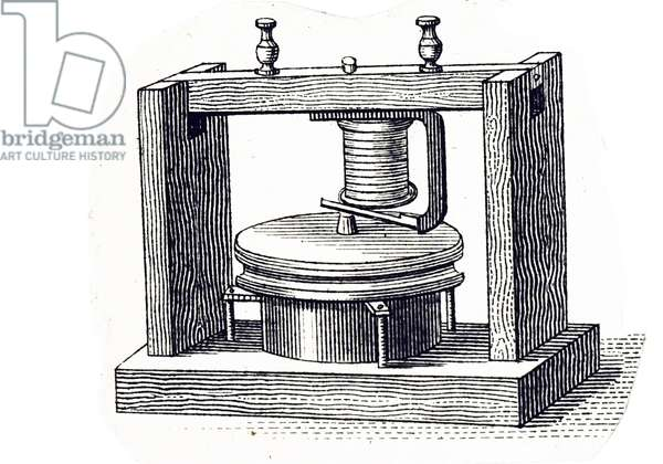 The first Bell telephone