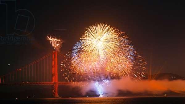 75th Anniversary, Golden Gate Bridge (photo)