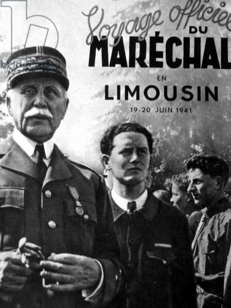 Henri Philippe Petain 24 April 1856 - 23 July 1951, Marshal Petain was a French general, later Chief of State of Vichy France, from 1940 to 1944