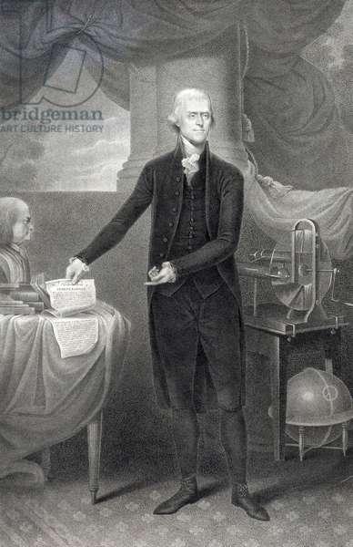 Thomas Jefferson, President of the United States, 1801
