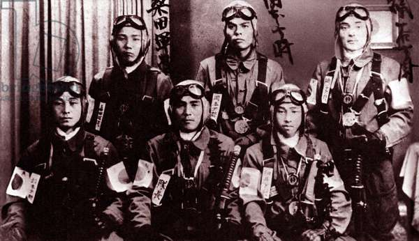 World War Two Kamikaze suicide pilots