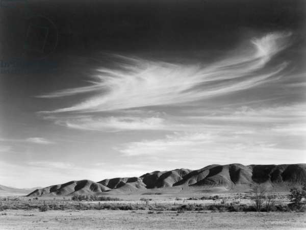 View south from Manzanar to Alabama Hills, California, 1943 (photo)