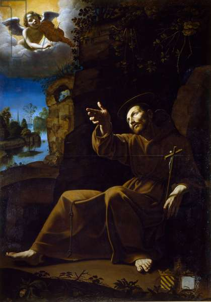 The Vision of St Francis