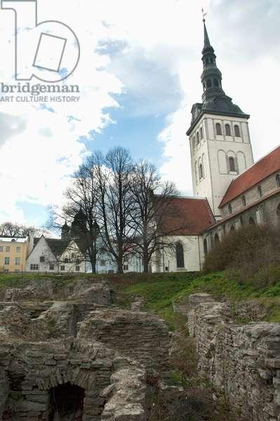 St. Nicholas Church in Tallinn, Estonia (photo)