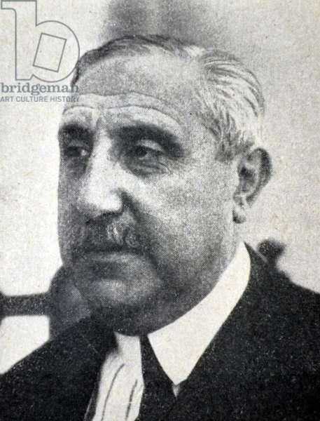 Spanish civil war : Don Gabriel Maura y Gamazo