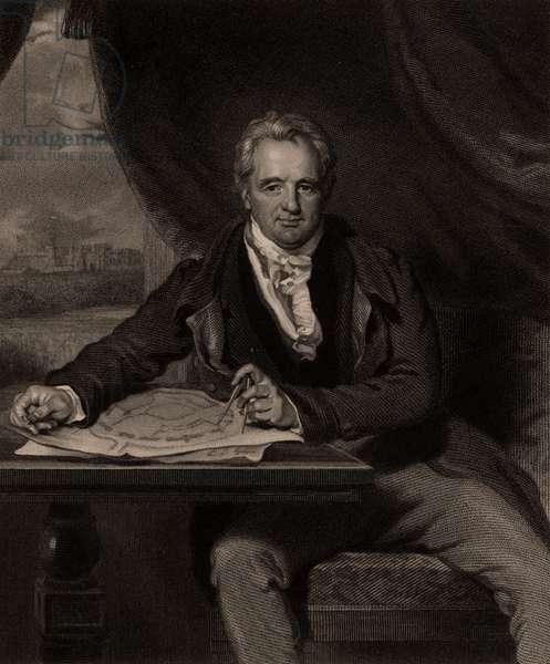 Jeffrey Wyatville,  born at Burton-on-Trent