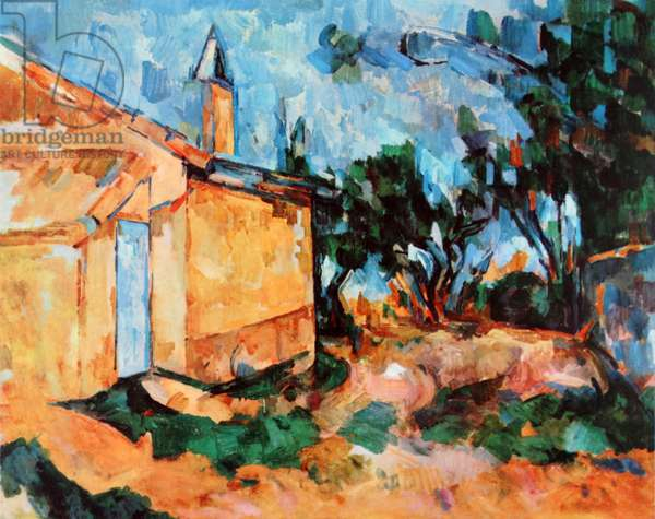 Le Cabanon de Jourdan  1906 by Paul Cézanne (1839–1906).