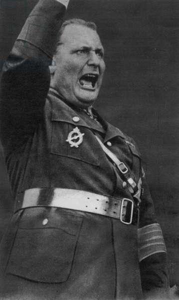 Hermann Goering - A Member of the Nazi High Command, 1942 (b/w photo)