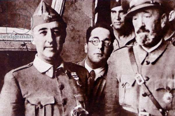 Spanish Civil War Generals: Nationalist generals (left to right)