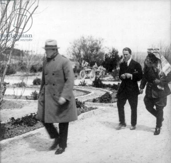 Winston Churchill, 1921