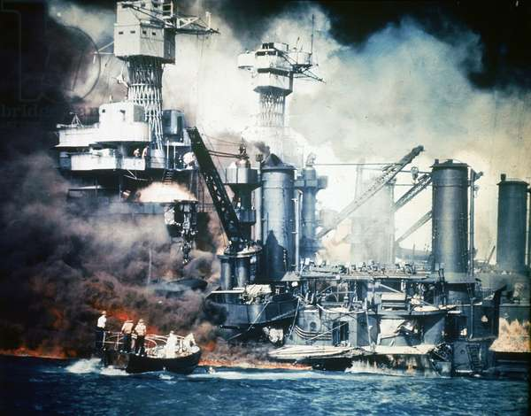 Japanese attack on Pearl Harbour; 7th December 1941