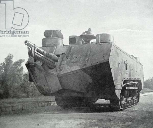 French army tank, 1917