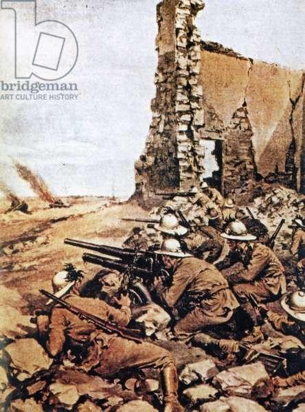 World War II-War in North Africa-1940 1943-Fascism-Posters of propaganda