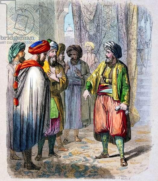 Muhammad Ali Pasha or Mehmet Ali proclaimed as Viceroy of Egypt, 1805