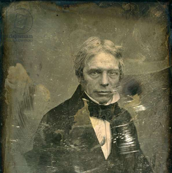 Michael Faraday, 1850