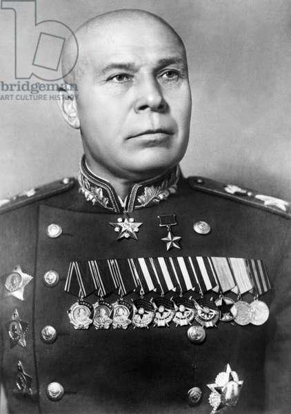 Semyon Timoshenko, Marshal of the Soviet Union, Famous World War 2 Soviet Commander.