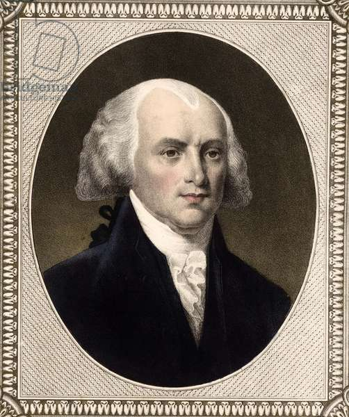 President James Madison, 1846