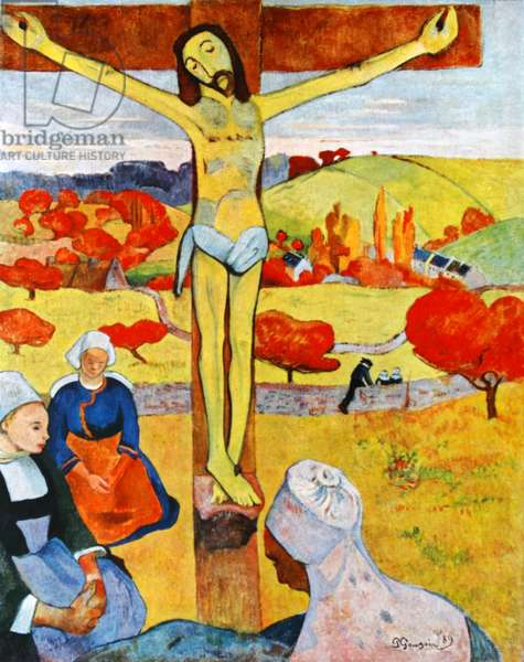 The Yellow Christ, 1889 by Paul Gauguin