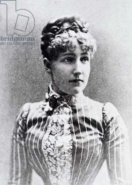 Princess Stefania of Sax Coburg Gotha