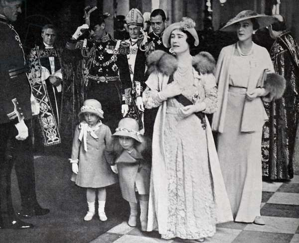 King George V and Mary of Teck, 1935