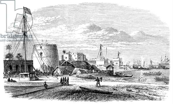 An Arabian Slave Port, 1850