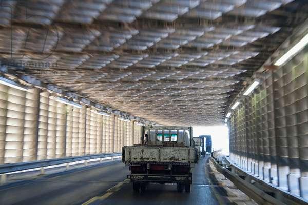 Ahmed Hamdi Tunnel Under the Suez Canal, South Sinai, Egypt (photo)