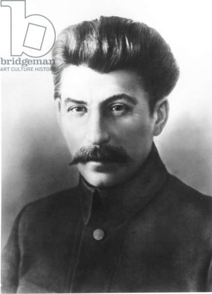 Early Portrait of Stalin, 1900s.