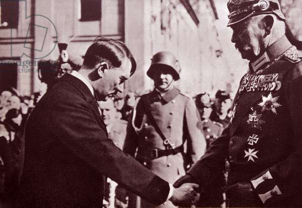 Reich President von Hindenburg appointed Adolf Hitler as Chancellor, 1933