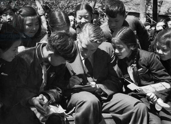 Korean War. April 1955
