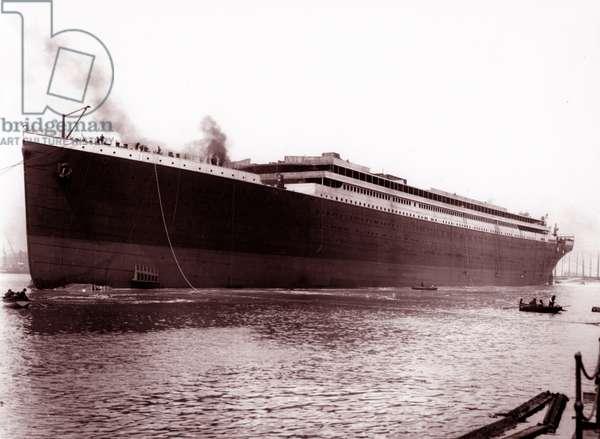 Titanic in Belfast, 1911