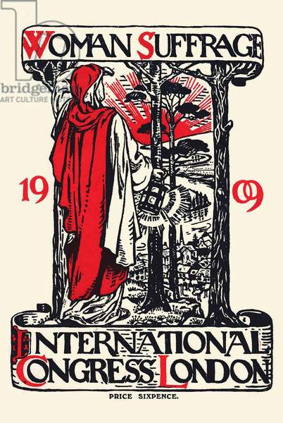 Women Suffrage International Congress London, 1909