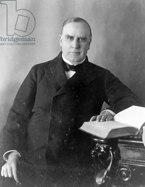 Half-length portrait of President William McKinley, 1900