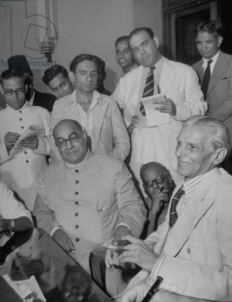 Muhammad Ali Jinnah and Liaquat Ali Khan, 1947