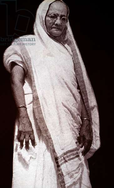 Kasturba Gandhi, 1940