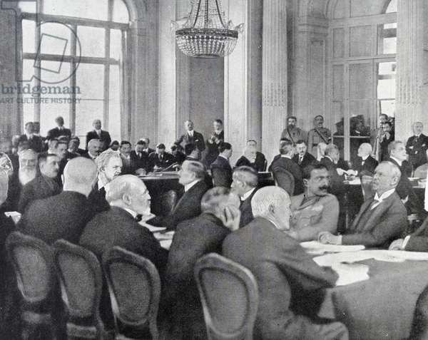 Treaty of Versailles, 1919