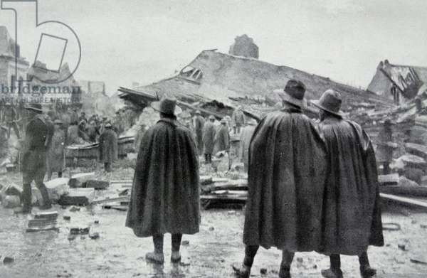 New Zealanders, after heavy fighting, occupied Bapaume, 1918