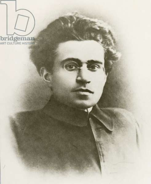 Portrait of Antonio Gramsci