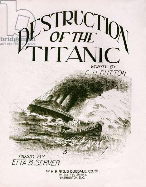 Destruction of the Titanic