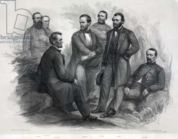 Lincoln and his generals, 1865