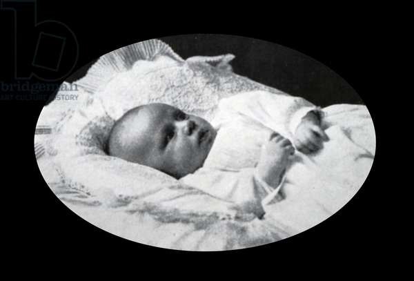 Princess Margaret, Countess of Snowdon as an infant, 1950