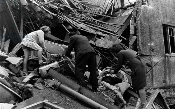 Survivors of the London blitz