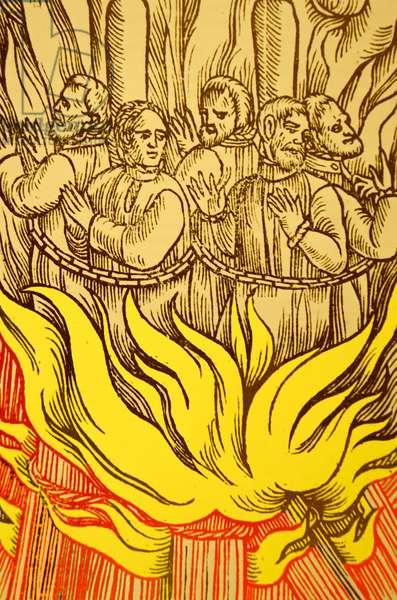 The persecution of Protestants.