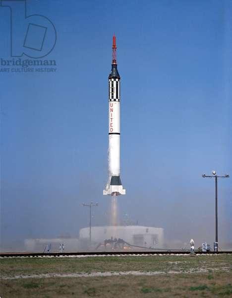 Launching of Mercury-Redstone 2