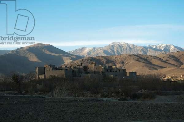 Qala (Fortified Residence) in Kotai Ashro, Vardak Province, Afghanistan (photo)